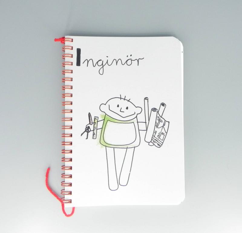 Kleinesbild - Ingenieur Kalender 2021, Inginör Beruf aus Kindermund