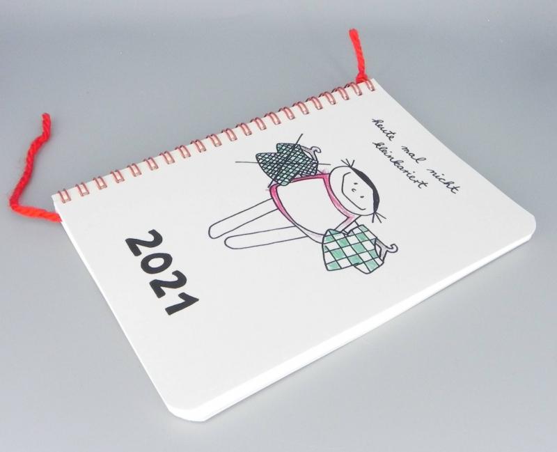 - Jahreskalender 2021 heute mal nicht kleinkariert  - Jahreskalender 2021 heute mal nicht kleinkariert