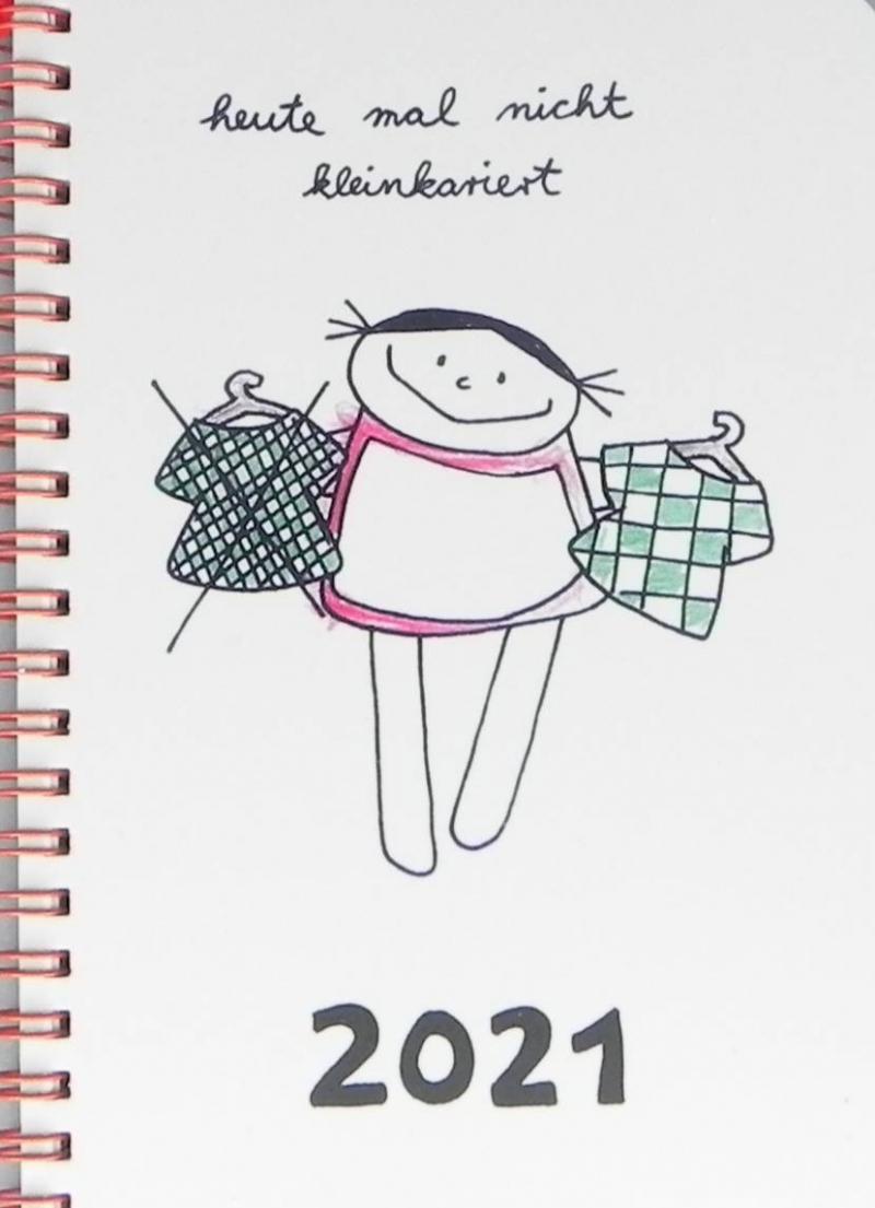 Kleinesbild - Jahreskalender 2021 heute mal nicht kleinkariert