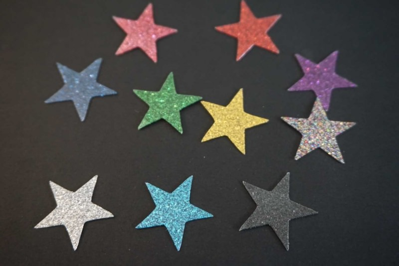 - Sterne Aufkleber Hotfix Bügelbild Textilaufkleber Glitterfolie bunt 10 Stück - Sterne Aufkleber Hotfix Bügelbild Textilaufkleber Glitterfolie bunt 10 Stück