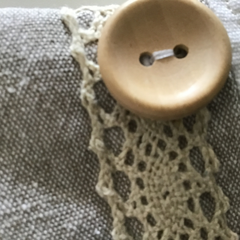 Kleinesbild - Handytasche Edelmaus genäht für Handys bis 16 cm x 8 cm mit Knopfverschluss
