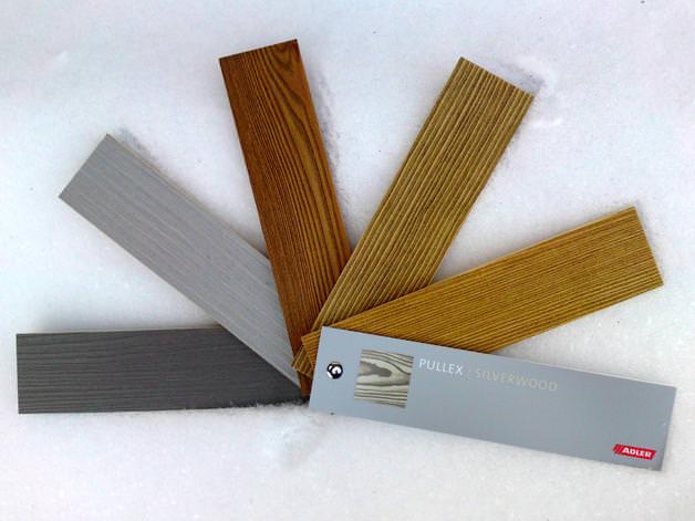 Kleinesbild - Holzbriefkasten, Holzpostkasten Memo Antik