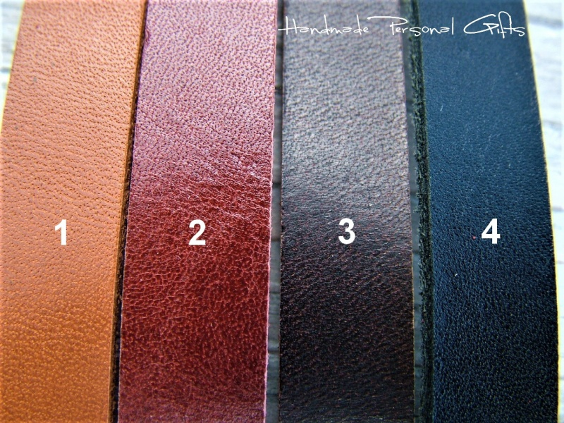 Kleinesbild - Armband aus Leder mit Edelstein, individualisierbar und in unterschiedliche Farben erhältlich, Chrysokoll, Türkis
