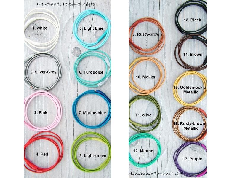 Kleinesbild - Armband Leder , wrap, Scharz, Pferd, Reiter, Tiere, Leder Wickelarmband, Silber, benützerdefiniert