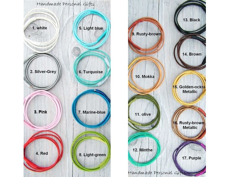 Kleinesbild - Armband Leder , wrap, Braun, Pferd, Reiter, Tiere, Leder Wickelarmband, Mokka, Pink, benützerdefiniert