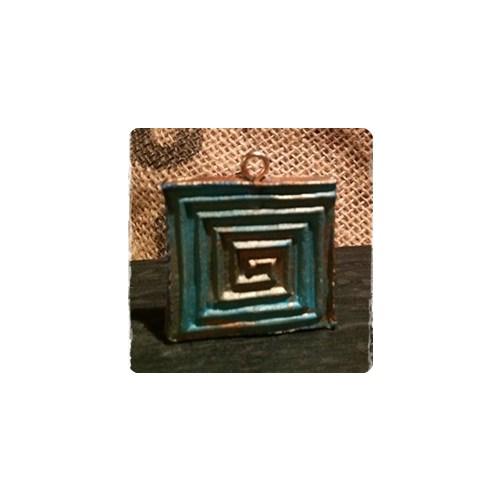 Kleinesbild - handmade Schmuckanhänger ^^ Spirale ^^ - ausdrucksstark und federleicht