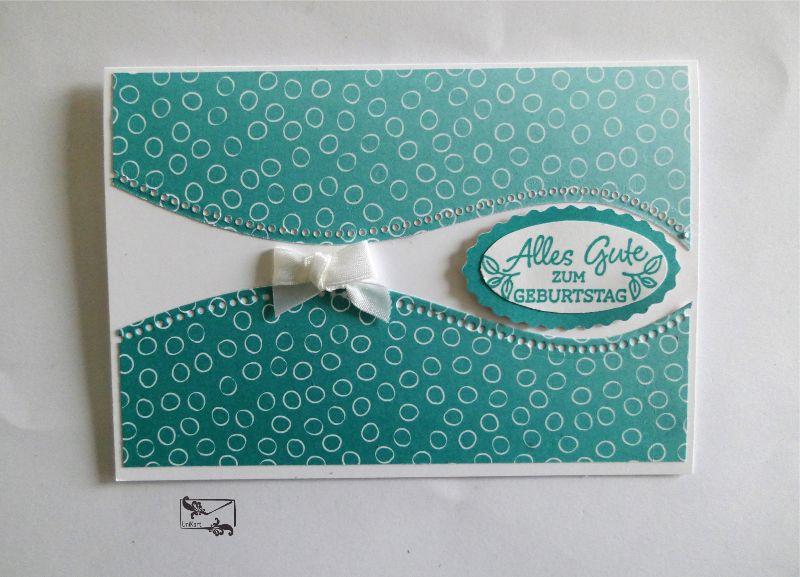 - Glückwunschkarten zum ♡Geburtstag♡ Pastelltöne mit Grusstext Handgefertigt mit Stampin