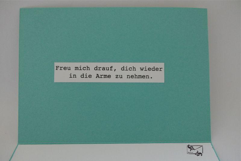 Kleinesbild - Bunte Freundschaftskarte Grußkarte / Stampin up! Handarbeit