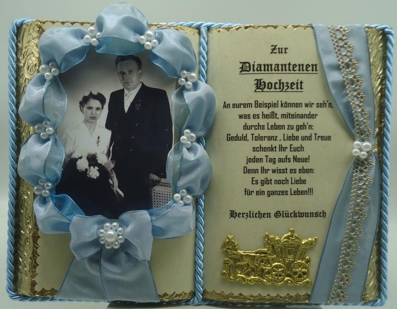 Hochzeitsgeschenke Handgefertigtes Blaues Deko Buch Zur
