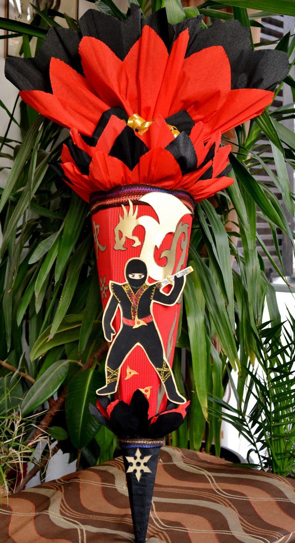 - Schultüte Zuckertüte Ninja für Jungs  Drache  (Kopie id: 24972) (Kopie id: 24973) - Schultüte Zuckertüte Ninja für Jungs  Drache  (Kopie id: 24972) (Kopie id: 24973)