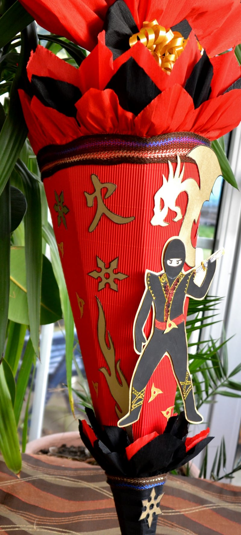 Kleinesbild - Schultüte Zuckertüte Ninja für Jungs  Drache  (Kopie id: 24972) (Kopie id: 24973) (Kopie id: 24974) (Kopie id: 24981)