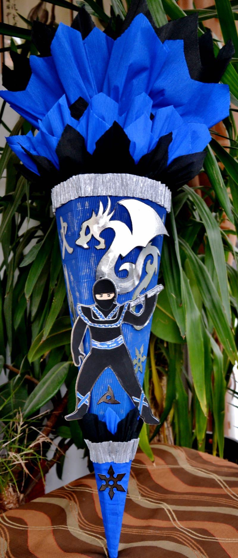 - Schultüte Zuckertüte Ninja für Jungs  Drache  (Kopie id: 24972) (Kopie id: 24973) (Kopie id: 24974) - Schultüte Zuckertüte Ninja für Jungs  Drache  (Kopie id: 24972) (Kopie id: 24973) (Kopie id: 24974)