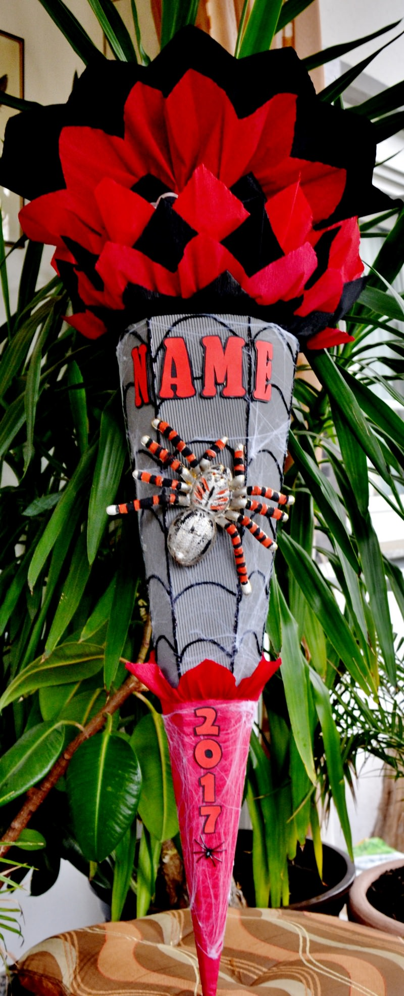 -  Handgemachte XXL Schultüte Zuckertüte Spinne für Jungs Spider (Kopie id: 25050) -  Handgemachte XXL Schultüte Zuckertüte Spinne für Jungs Spider (Kopie id: 25050)