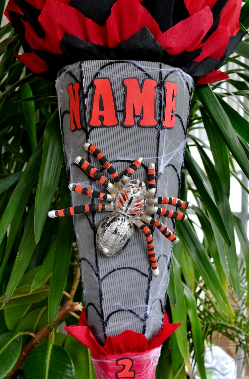 Kleinesbild -  Handgemachte XXL Schultüte Zuckertüte Spinne für Jungs Spider (Kopie id: 25050)