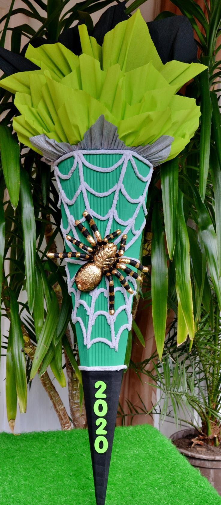 -  Handgemachte  Schultüte Zuckertüte Spinne für Jungs Spider  -  Handgemachte  Schultüte Zuckertüte Spinne für Jungs Spider