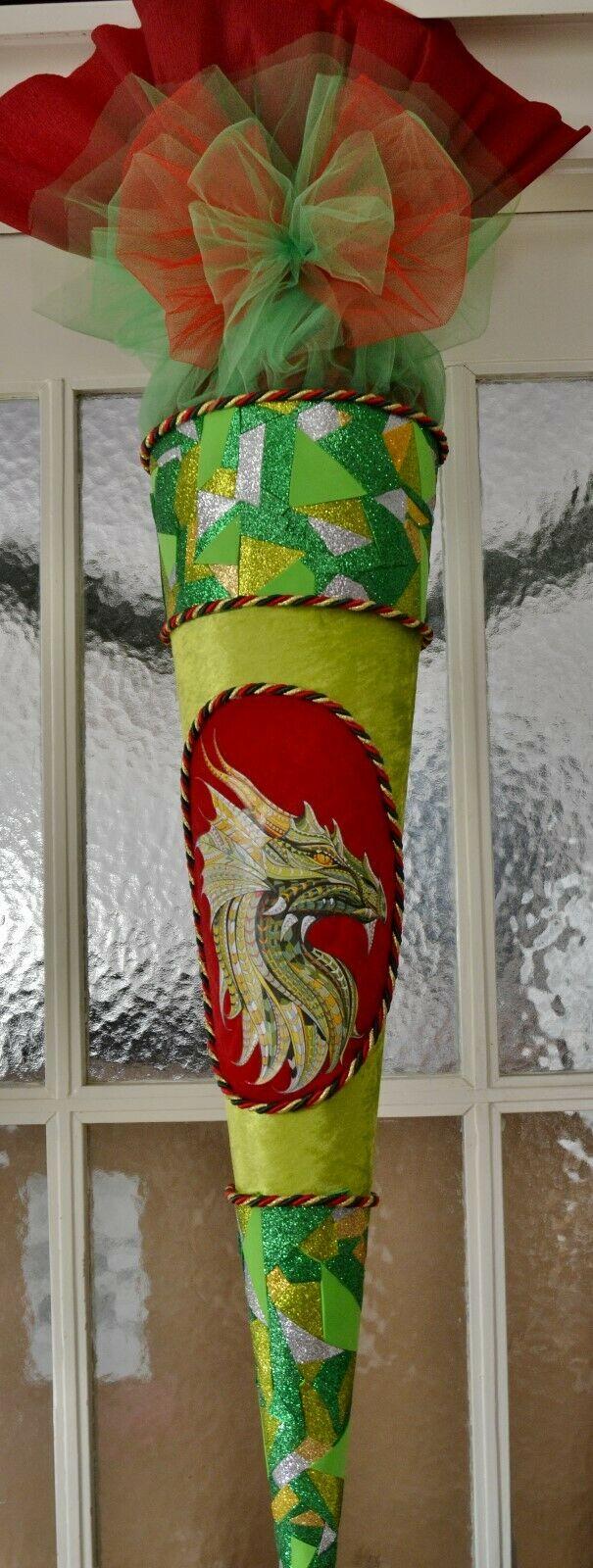 schultüte drache zuckertüte dragon für jungs abitur geschenk