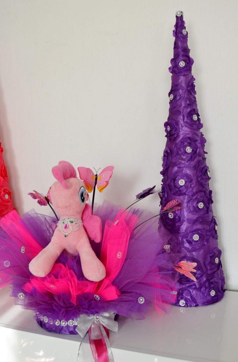 Kleinesbild -   Schultüte Einhorn Zuckertüte Rohling für Mädchen  Geschenk Pegasus Pferd