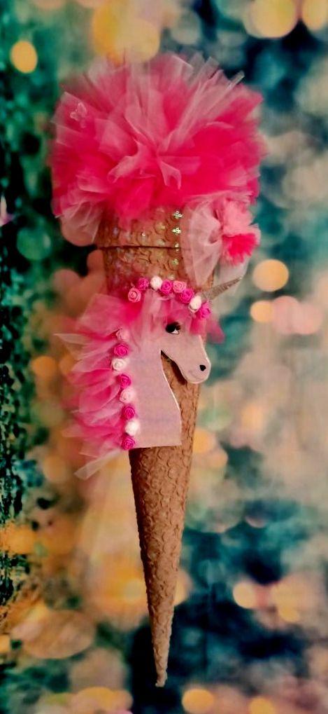 - Schultüte  Einhorn Pegasus Pferd Schmetterling  Zuckertüte - Schultüte  Einhorn Pegasus Pferd Schmetterling  Zuckertüte