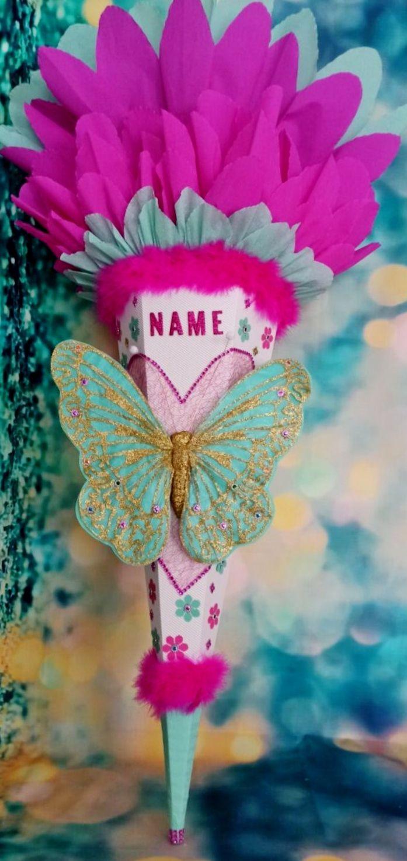 Kleinesbild - Schultüte Schmetterling Zuckertüte