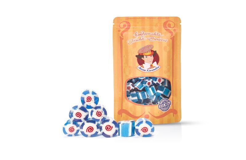 - * Meister Karamellus * Blaubeer Bonbons in der 80 g Tüte * - * Meister Karamellus * Blaubeer Bonbons in der 80 g Tüte *