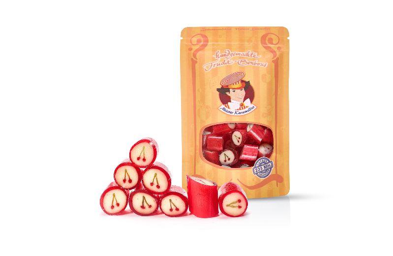 - * Meister Karamellus * Kirsch Bonbons in der 80 g Tüte  *  - * Meister Karamellus * Kirsch Bonbons in der 80 g Tüte  *