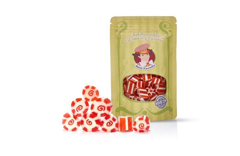 - * Meister Karamellus * Ingwer-Orange Bonbons in der 80 g Tüte *  - * Meister Karamellus * Ingwer-Orange Bonbons in der 80 g Tüte *