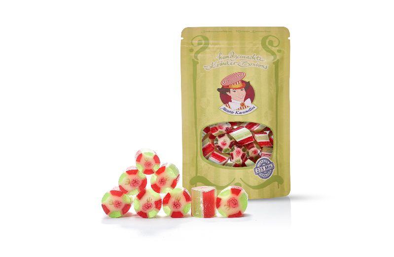 - * Meister Karamellus * Himbeer- Pfefferminz Bonbons in der 80 g Tüte *   - * Meister Karamellus * Himbeer- Pfefferminz Bonbons in der 80 g Tüte *