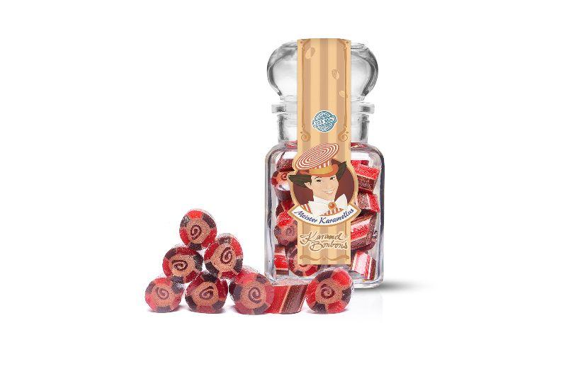 - * Meister Karamellus * Schoko- Kirsch Bonbon im 100 g Glas * - * Meister Karamellus * Schoko- Kirsch Bonbon im 100 g Glas *
