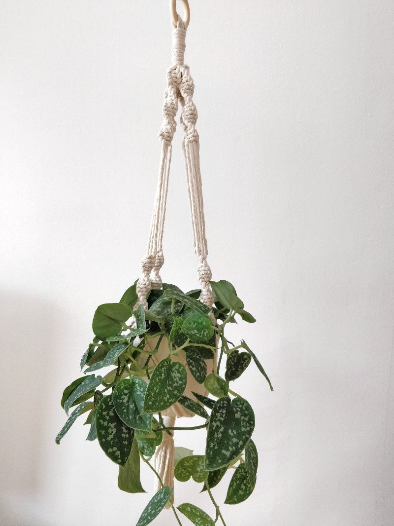 Kleinesbild - Blumenampel Amelia 45 cm | plant hanger | Boho | Entho | Bohochic | Pflanzen