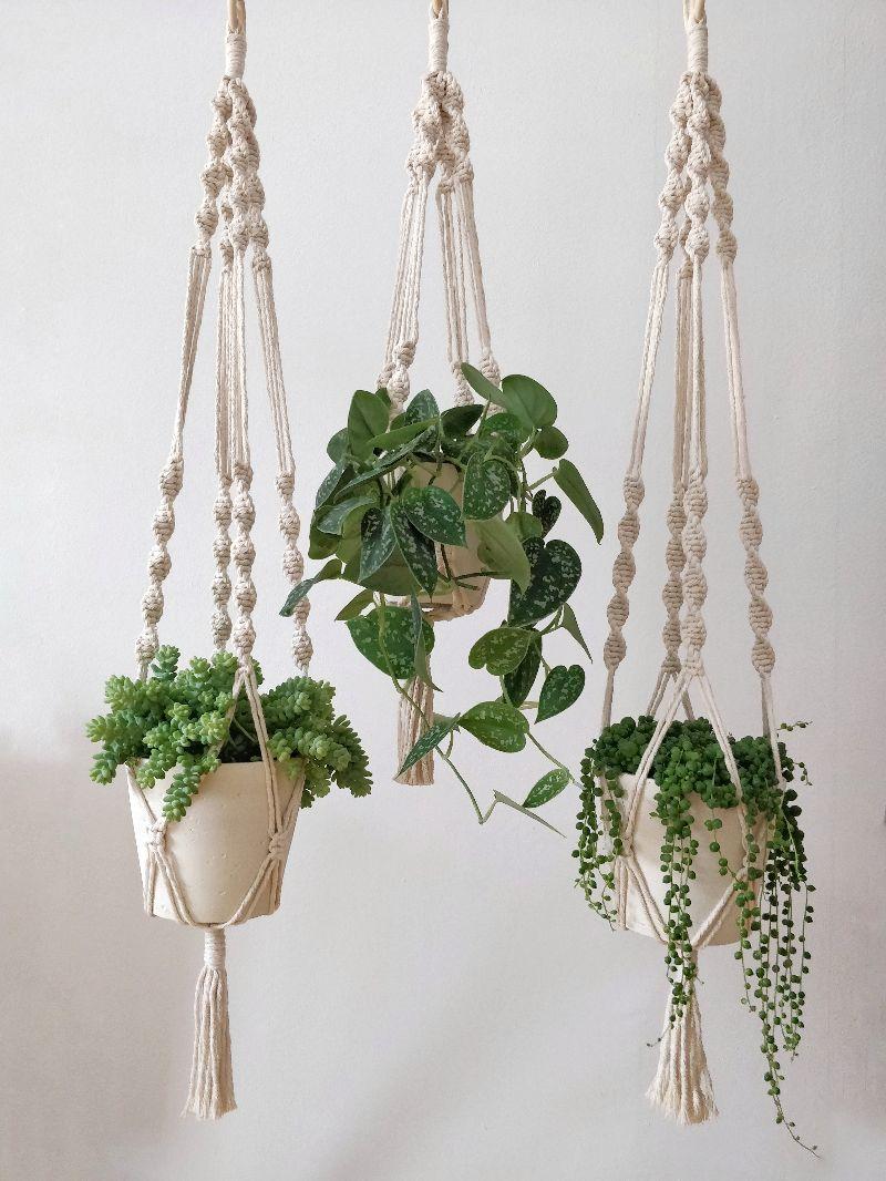 - Blumenampel Amelia 45 cm | plant hanger | Boho | Entho | Bohochic | Pflanzen - Blumenampel Amelia 45 cm | plant hanger | Boho | Entho | Bohochic | Pflanzen