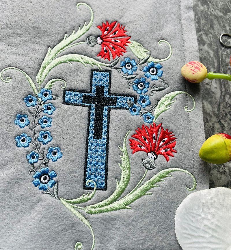 - Gotteslobhülle Gotteslob Gebetbuch Hülle Umschlag aus Filz Handarbeit Stickerei - Gotteslobhülle Gotteslob Gebetbuch Hülle Umschlag aus Filz Handarbeit Stickerei