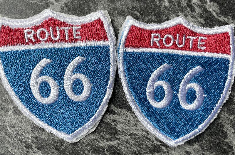 Kleinesbild - Stickbilder Country Western Route 66 USA zum aufbügeln, Stickbilder, Bügelbild