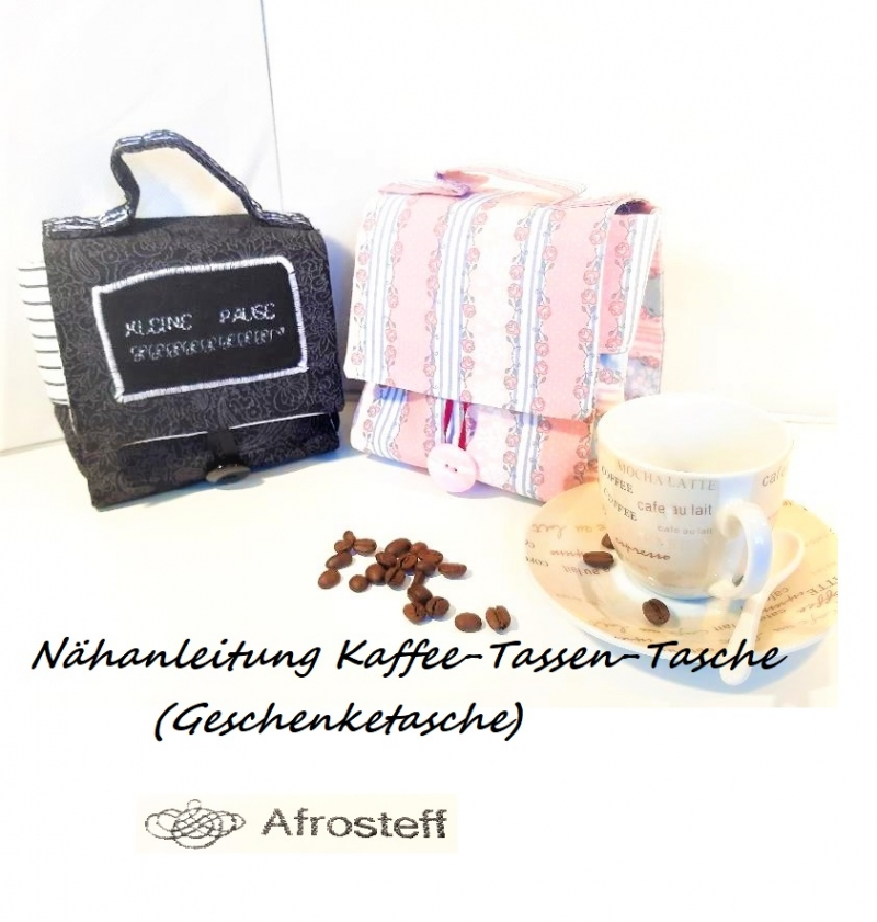 - ✂ E-Book Nähanlanleitung Kaffee-Tasche, die nette Geschenktasche - ✂ E-Book Nähanlanleitung Kaffee-Tasche, die nette Geschenktasche