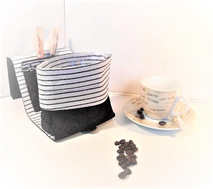 Kleinesbild - ✂ E-Book Nähanlanleitung Kaffee-Tasche, die nette Geschenktasche