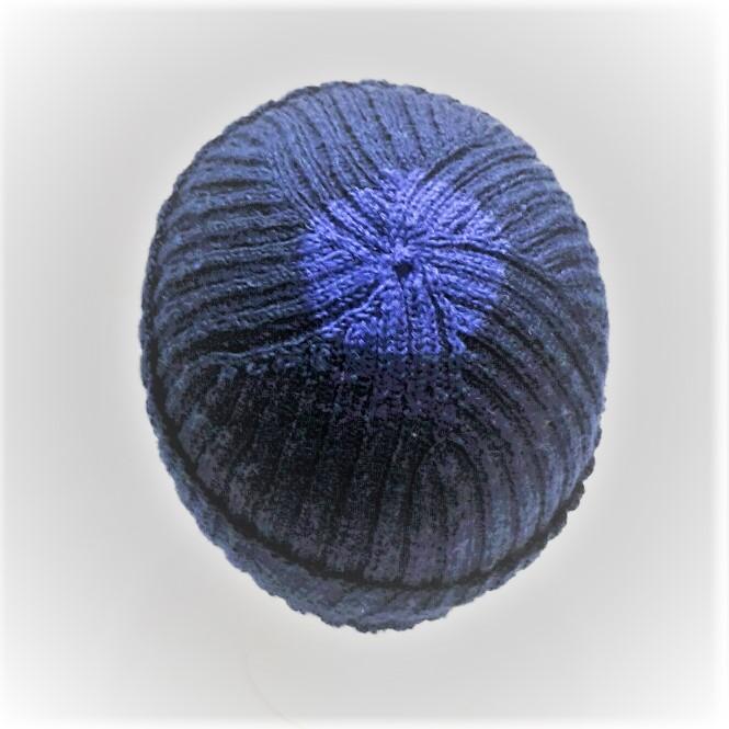 Kleinesbild - Warme Strickmütze, Wollmütze, gestrickte Wintermütze, Damenmütze, Herrenmütze, Unisex Strickmütze, Beanie