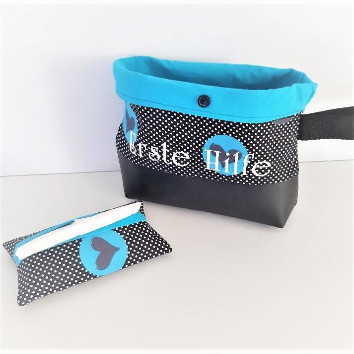 Kleinesbild - Reiseapotheke, Medizintasche, Notfalltasche mit Taschentüchertasche