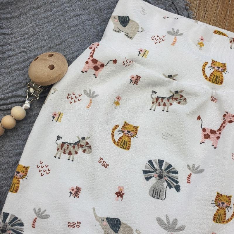 Kleinesbild -  Baby Pants aus Jersey -Jungeltiere- Gr.56