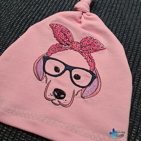 Kleinesbild - Hund mit Brille
