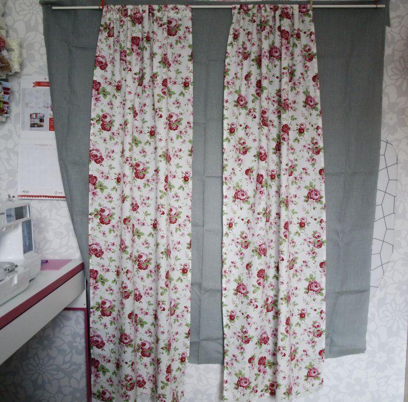 Wohnen : 2 gardinenschals schals vorhänge ikea rosali gardinen ...