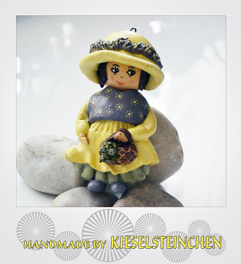 - Salzteig Figur Mädchen - Salzteig Figur Mädchen