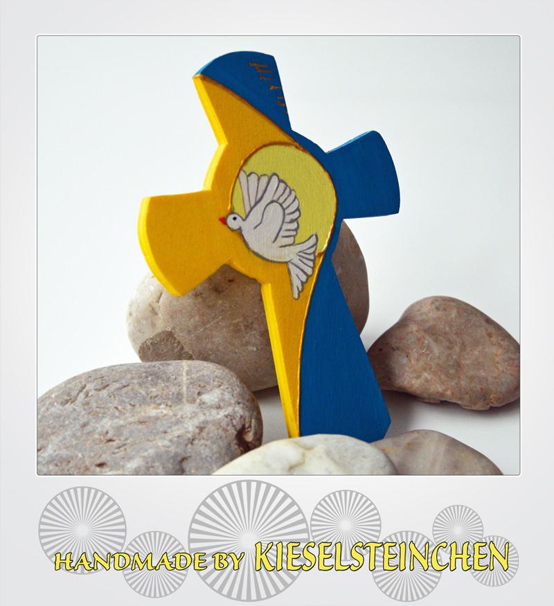 Kleinesbild - Kinderkreuz mit Taube