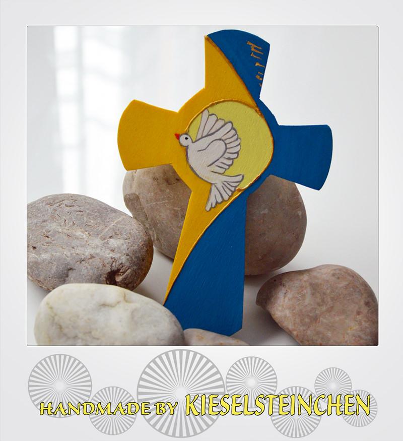 - Kinderkreuz mit Taube - Kinderkreuz mit Taube