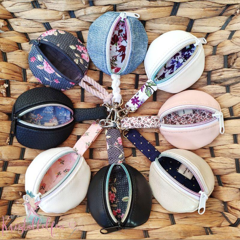 Kleinesbild - Individuelle gefertigte Krimskramselfentäschchen ganz nach Deinen Stoff- und Farbwünschen. Ab Größe 9x9cm erhältlich. Mit oder ohne Personalisierung.Gerne auch aus wasserabweisende