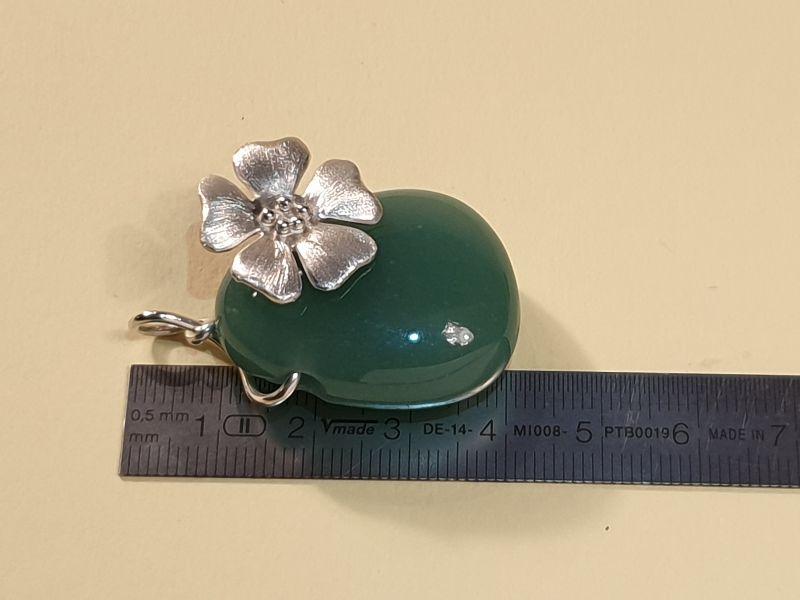 Kleinesbild - Blütenanhänger mit Aventurin