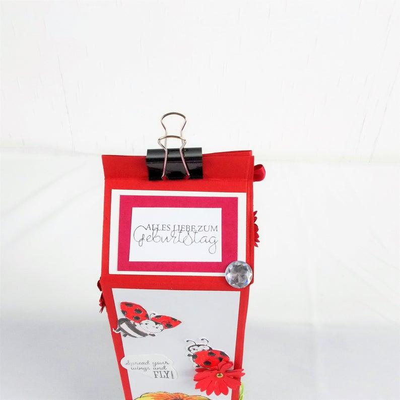 Kleinesbild - Kleines Geschenk, Wellness, Milchtüte, Weihnachtsgeschenk
