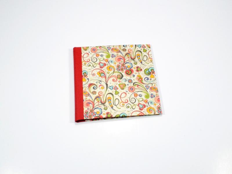 Kleinesbild - CD / DVD Hülle bunt Buchbindehandwerk von Pappelapier