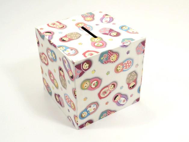 - Spardose Matroschka Buchbindehandwerk von Pappelapier  - Spardose Matroschka Buchbindehandwerk von Pappelapier