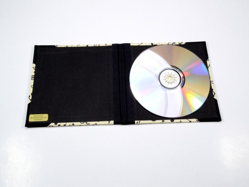 Kleinesbild - CD / DVD Hülle Noten Buchbindehandwerk von Pappelpaier