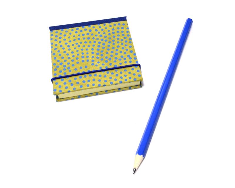 - Haftnotiz, Klebezettel Mäppchen Punkte Buchbindehandwerk von Pappelapier  - Haftnotiz, Klebezettel Mäppchen Punkte Buchbindehandwerk von Pappelapier