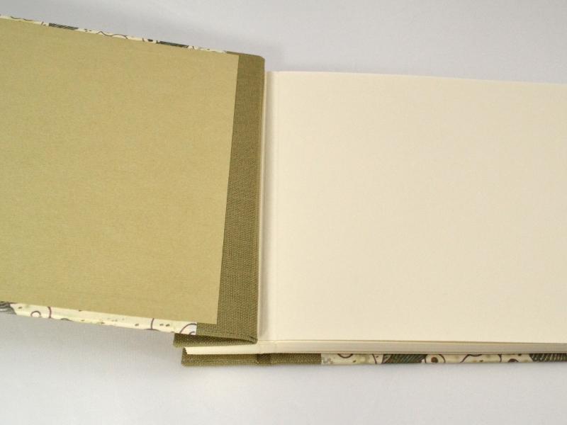 Kleinesbild - Fotoalbum Gästebuch DIN A5 Ginkgo 20 Blatt